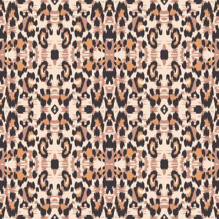 Cheetah Animal Seamless Pattern.