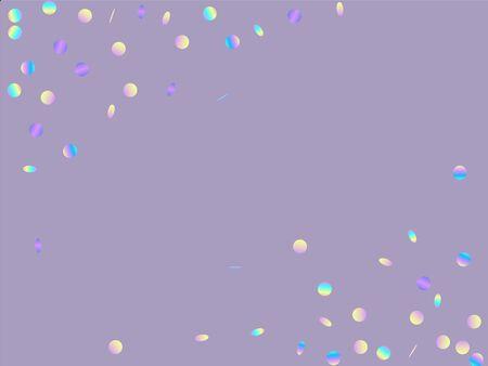 Color Abstract Splash Backdrop. Confetti Design. Splash Flying Pattern. Rainbow Transparent Illustration. Ilustracja