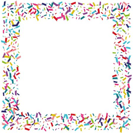 Color Carnaval Shine Backdrop. Rain Backdrop. Shine Christmas Design. Rainbow Transparent Design. Ilustracja