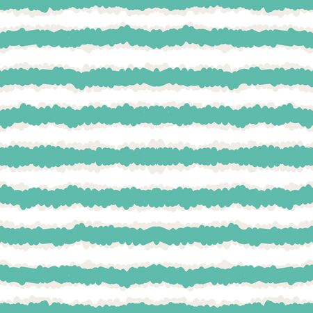 Sea Vintage Stripe Vector Seamless Pattern. Indigo Cute Strip Mexican Design. Wall Scandinavian Illustration. Strip Cute Background.