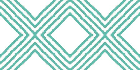 Blue Vintage Tribal Vector Seamless Pattern. Arabic Tie Dye Japanese Print. Ethnic Repeat Print. Blue Shibori Japan Vector Seamless Pattern Zdjęcie Seryjne - 140856012