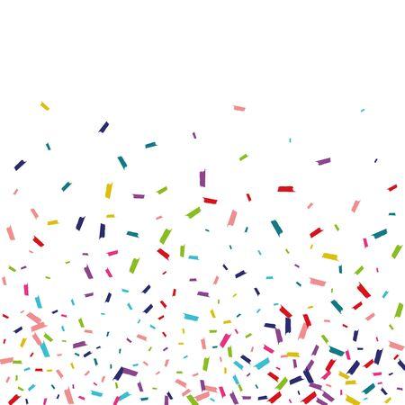 Rainbow Happy Round Wallpaper. Dust Banner. Splash Happy Invitation. Rainbow Happy Background. Vector Illustratie