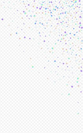 Multicolored Circle Fun Transparent Background. Unicorn Vector Rain Backdrop. Happy Illustration. Magic Top Postcard. Stockfoto - 147885719