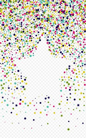 Yellow Dot Effect Transparent Background. Celebration Polka Card. Christmas Circle Texture. Orange Splash Carnaval Backdrop. Vectores