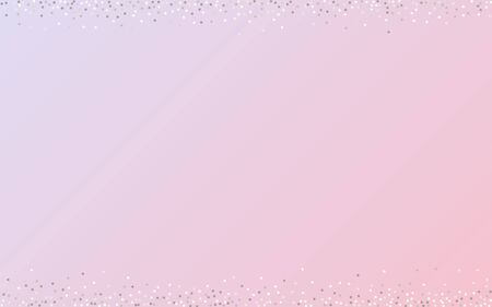 White Polka Light Pink Background. Bridal Dot Design. Silver Dust Effect Background. Circle Abstract Pattern.