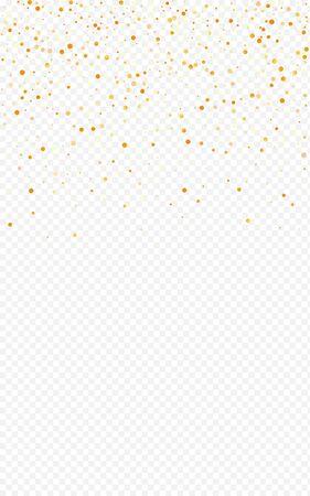 Yellow Glow Transparent Transparent Background. Golden Dust Banner. Gold Splash Luxury Invitation. Sparkle Happy Backdrop.