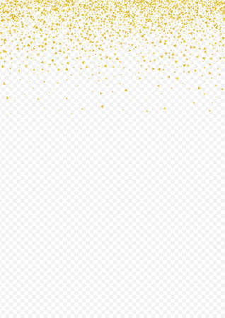 Gold Shine Holiday Transparent Background. Rich Sequin Texture. Golden Sparkle Shiny Backdrop. Triangle Effect Banner.
