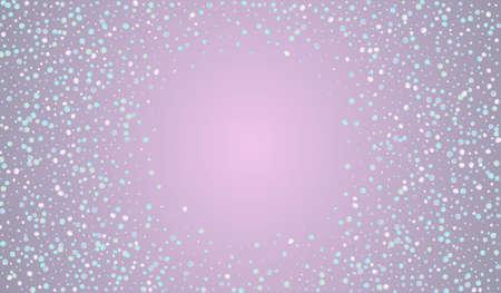 Colored Shine Festival Blue Background. Magic Independence Dot Postcard. Celebration Background. Gradient Flying Illustration. Ilustrace