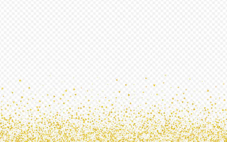 Golden Shards Luxury Transparent Background. Rich Sparkle Card. Gold Shard Effect Wallpaper. Sequin Happy Pattern.