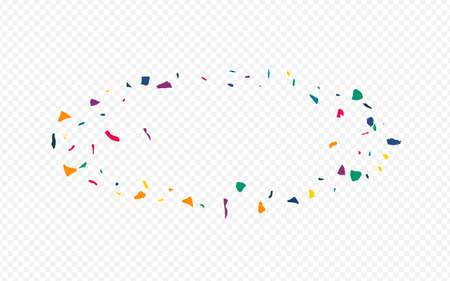 Orange Particles Happy Transparent Background. Festival Elements Wallpaper. Invitation Paint Texture. Rainbow Smear Abstract Card.