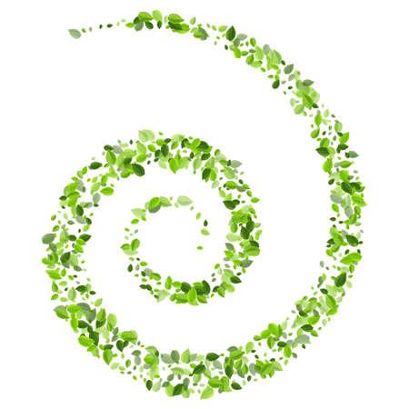 Lime Foliage Falling Vector Branch. Motion Leaf Illustration. Grassy Greens Spring Design. Leaves Tea Brochure.