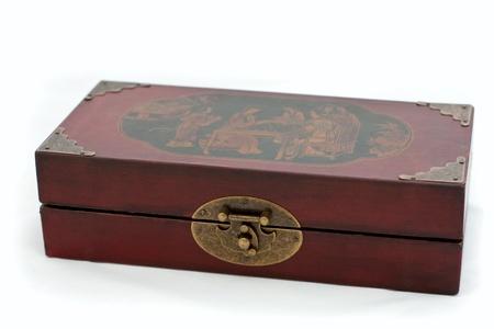 old Chinese chess box