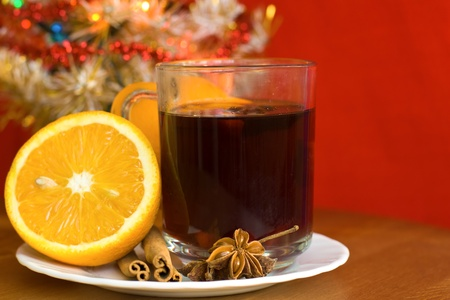 Christmas hot wine  photo