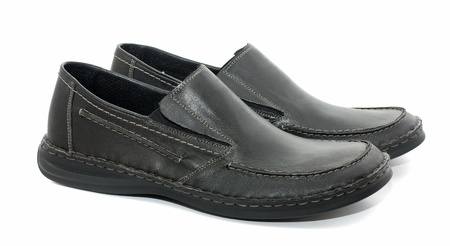 men s casual shoes  Stock Photo