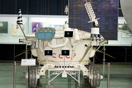 Lunokhod 2 in space exploration museum in Kaluga, Russia  Stock Photo - 13117910