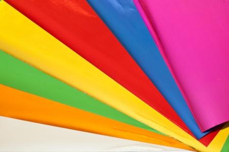 mirrored: colorful aluminum foil