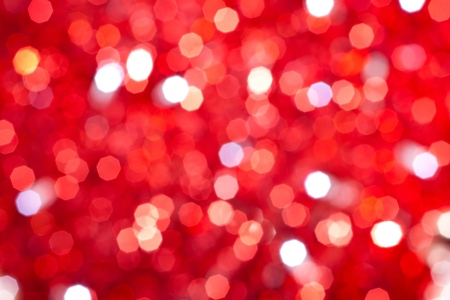 red bokeh lights background  photo