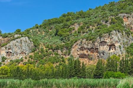 Lycian kings   tombs