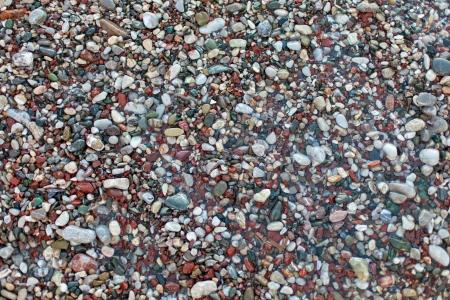 pebble stones texture Stock Photo