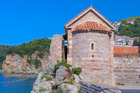 Tower in Stari Grad Budva, Montenegro