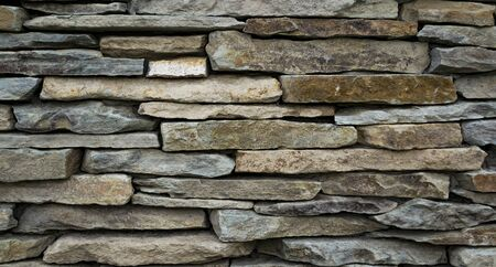 Stone wall surface background, texture