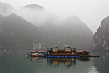 pearl village in Halong bay