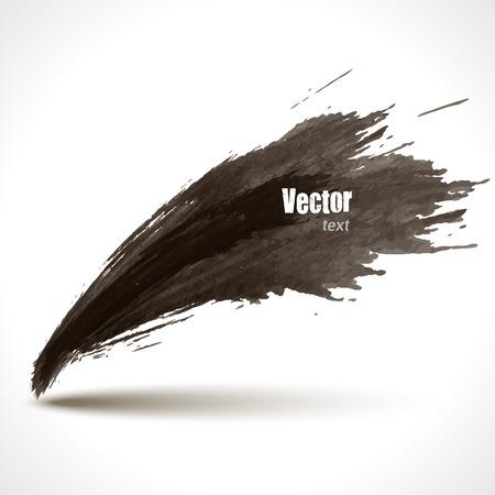 steady: Hand Drawn Watercolor Grunge background, Vector Illustration. Dark Illustration
