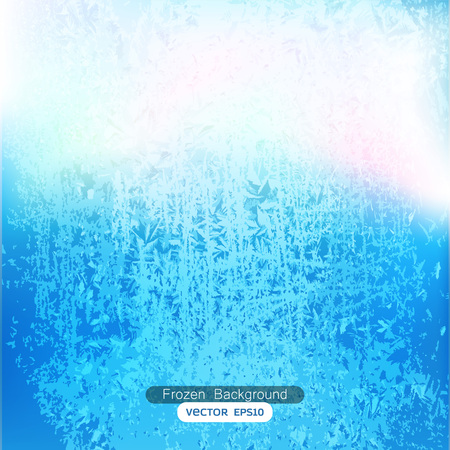 Abstract frozen background texture vector 向量圖像