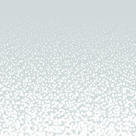 Vallende Sneeuw op de lichte achtergrond. Kerst vakantie achtergrond. New Year achtergrond, vectorillustratie Stock Illustratie