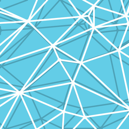 parametric: Abstract Blue Background with big Lines Stripes, Abstract Connection Net Concept