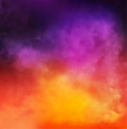 Abstract Vector Colorful Smoky Background