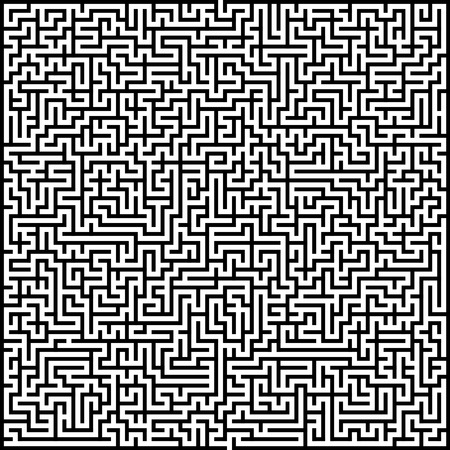 complexity: Abstract vector maze of high complexity template layout