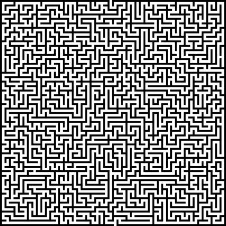 Résumé vecteur labyrinthe de grande complexité modèle layout