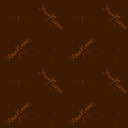 watermark: Watermark seamless pattern for business companies on blur background. Illustration