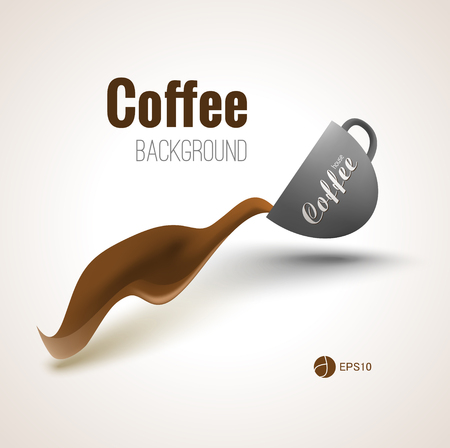 advertisment: Coffee background for your designs, posters and advertisment.