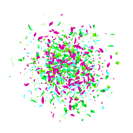 holiday party: Holiday Confetti background for holidays party events, vector illustartion. Stock Photo
