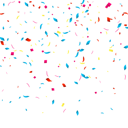 Confetti vector background for holidays party events, vector illustartion. 向量圖像