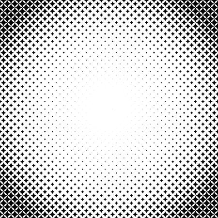 illustrateur Halftone. Halftone étoiles. 4 points. effet Halftone. Motif en demi-teintes. étoiles Vector tramées. Étoiles sur fond blanc. Vector Halftone Texture.