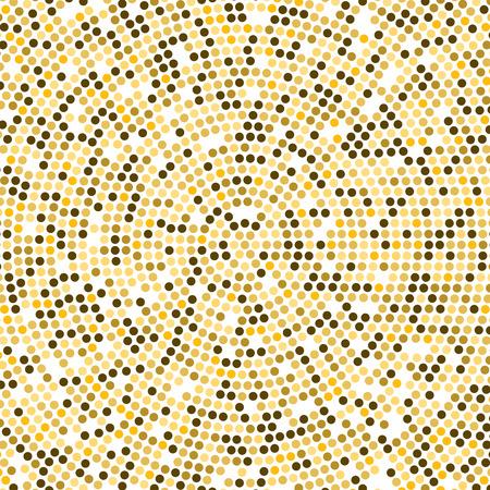 disco lights: Vector Gold Disco lights background. Round golden mosaic concept.