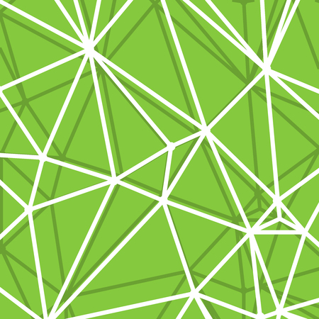 parametric: Abstract Green Background with big Lines Stripes, Abstract Connection Net Concept. Stock Photo
