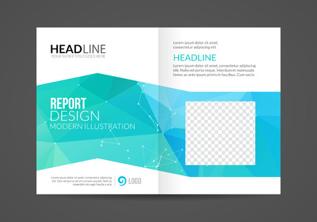 Vector Brochure Flyer design business Layout template, infographic booklet.