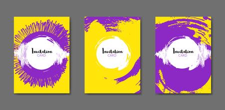 Art Flyer Brochure Design Template. Book Cover Mockup. Artistic ...