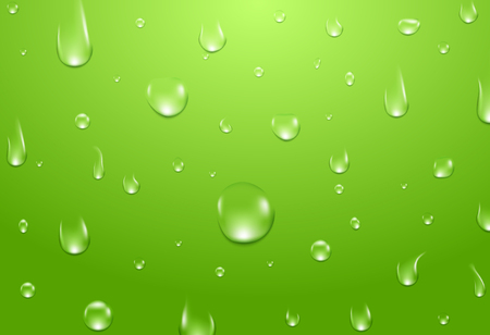 Water drops background. Fresh aqua or healthy natural concept.