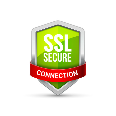 SSL Protection shield guard icon. Security ssl protect sign symbol. Illustration