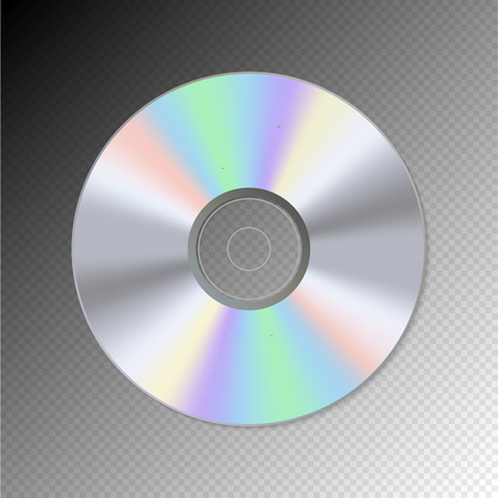 blueray: DVD or CD disc. Blue-ray technology vector illustration. Music sound data information.