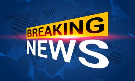News tv, breaking news, broadcast channel headline.