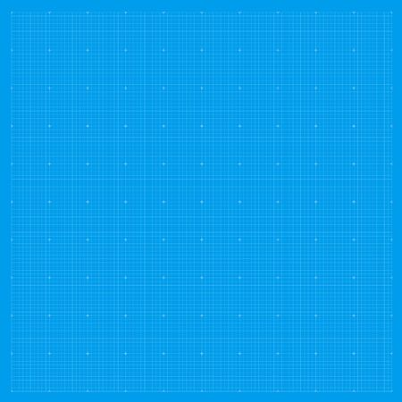 Blueprint background grid. Blue paper graph metric pattern. Blueprint drawing texture. Standard-Bild - 133432641