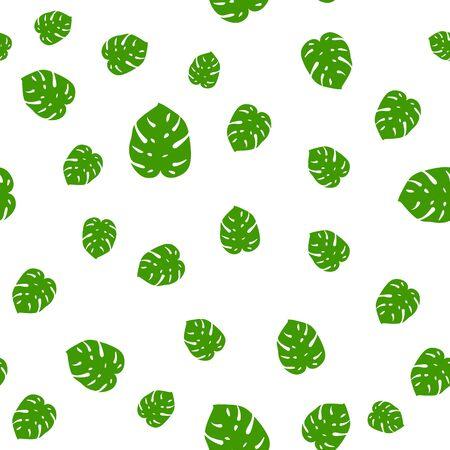 Tropical seamless pattern palm jungle floral monstera print foliage leaf pattern. Foto de archivo - 133432651