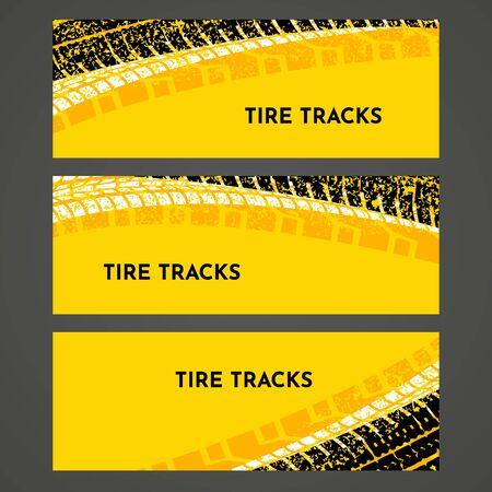 Rally race grunge tire dirt car background banner. Offroad wheel truck vehicle vector illustration Stok Fotoğraf - 133433595