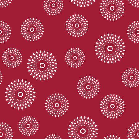 Ethnic bali pattern dress seamless wallpaper tribal background. Batik fabric ornament indonesia.